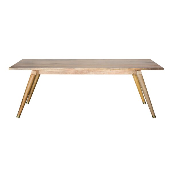 Luz Solid Wood Dining Table by Millwood Pines