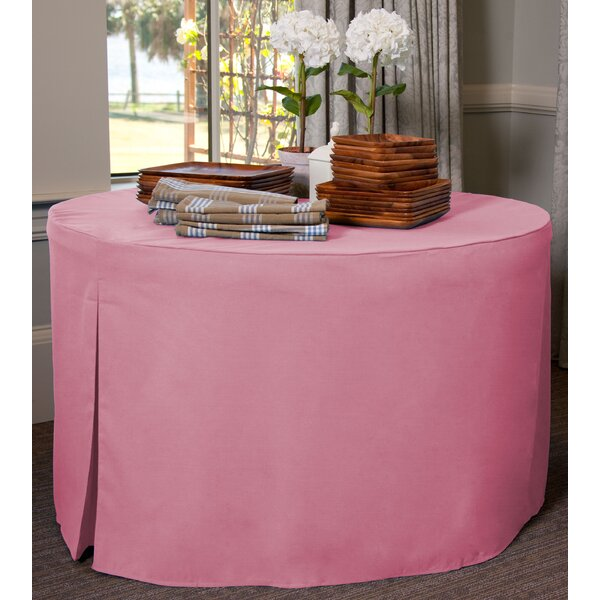60 W Fitted Round Tablecover by Tablevogue