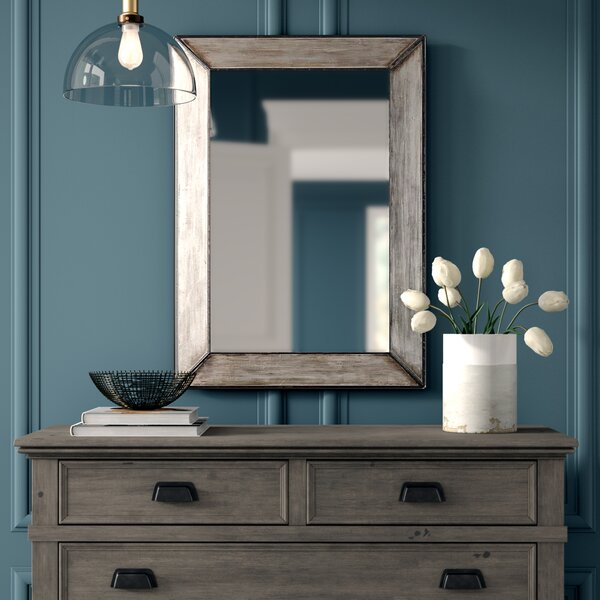 Terri Traditional Rectangle Framed Accent Mirror by Greyleigh