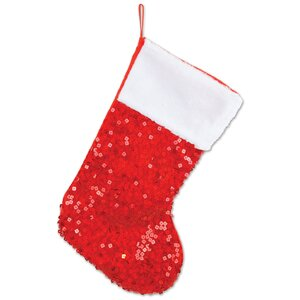 Sequined Christmas Stocking
