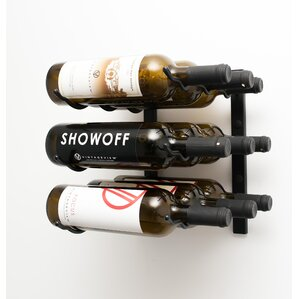 Wall Series 9 Bottle Wall Mounted Wine Rack by VintageView