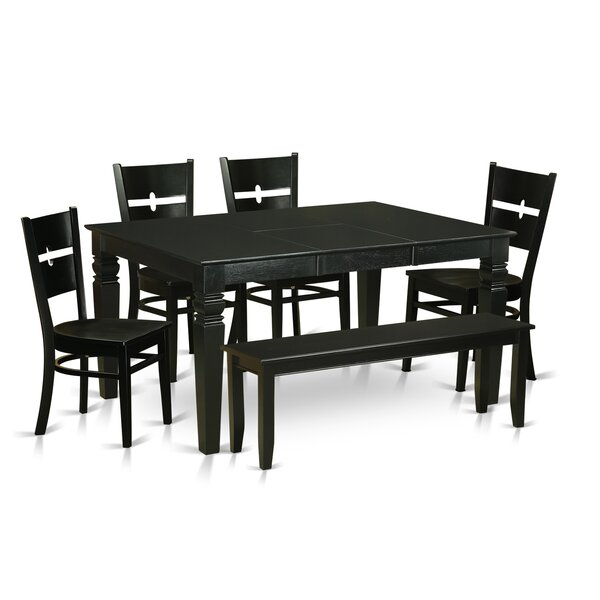 Weston 6 Piece Dining Set by Wooden Importers
