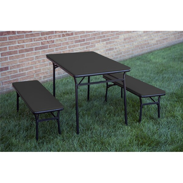 Cosco Home And Office 3 Piece Indoor Outdoor Tailgate Set