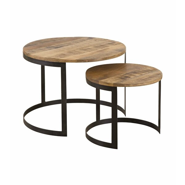 Review Kenly 2 Piece End Table Set