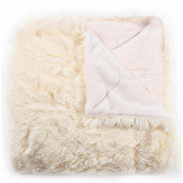 Violetta Faux Fur Throw by House of Hampton