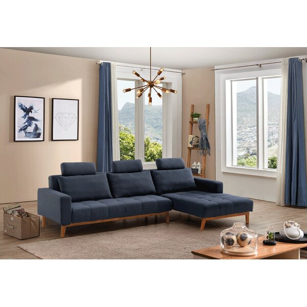 Top Quality Maghin Sleeper Sectional by Orren Ellis by Orren Ellis