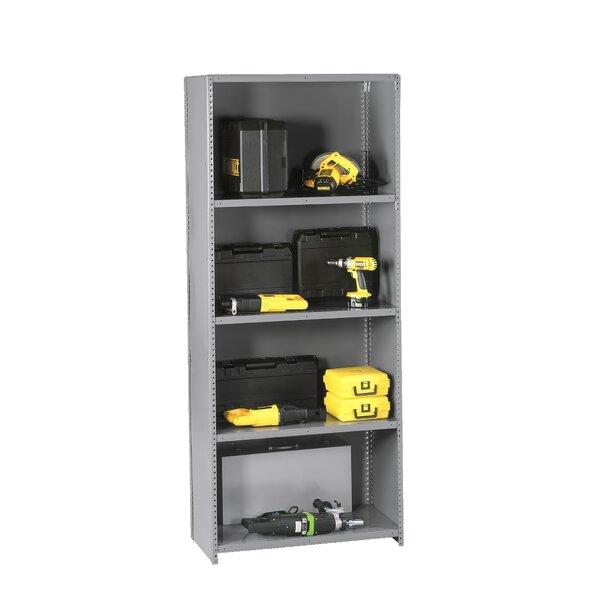 Q Line Closed 7 Shelf Shelving Unit Starter by Tennsco Corp.