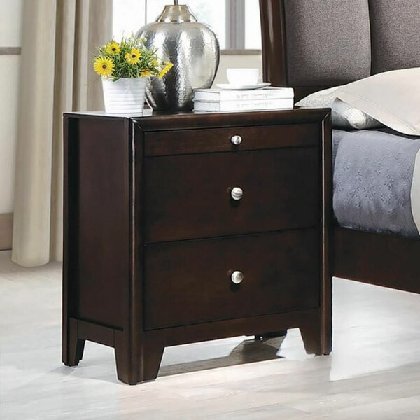 Spotts 2 Drawer Nightstand by Red Barrel Studio