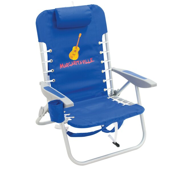 Dracut 4-Position Lace-Up Backpack Reclining Beach Chair by Freeport Park Freeport Park