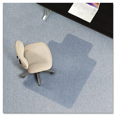 AnchorBar Task Series Low Pile Carpet Straight Edge Chair Mat by ES Robbins Corporation