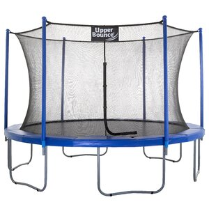 12' Trampoline with Enclosure