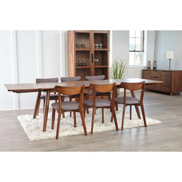 Clayborn 5 Piece Solid Wood Dining Set by Corrigan Studio