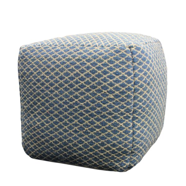 Dorcaster Cube Ottoman by Highland Dunes