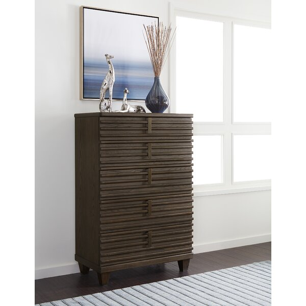 Gilpin 5 Drawer Chest by Bloomsbury Market