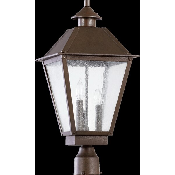 Mei Outdoor 3-Light Lantern Head by Alcott Hill
