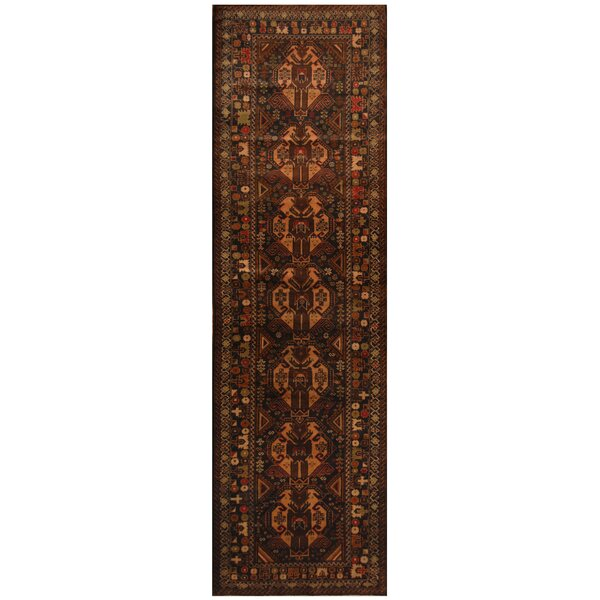 One-of-a-Kind Prentice Hand-Knotted Wool Brown/Beige Area Rug by Isabelline