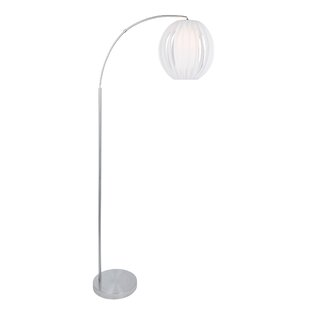 Modern round shaped floor lamps allmodern willam 795 arched floor lamp aloadofball Gallery