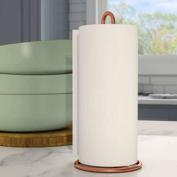 Paper Towel Holder by Mint Pantry