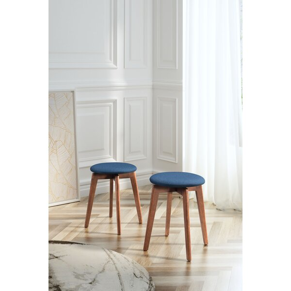 Arush Solid Manufactured Wood Utility Stool By George Oliver