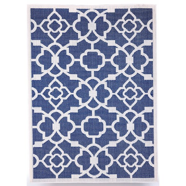 Monaco Royal Blue Indoor/Outdoor Area Rug by Budge Industries