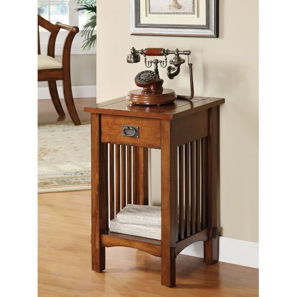 Burrell End Table By Millwood Pines