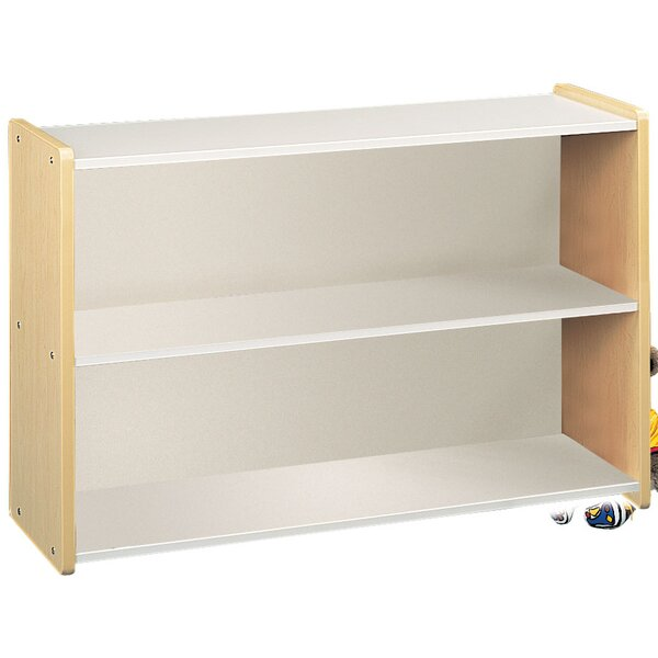 1000 Series 2 Compartment Shelving Unit by TotMate