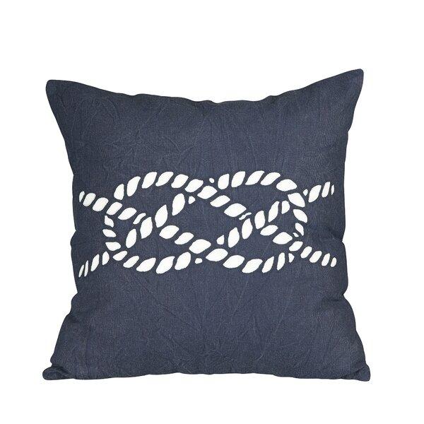 Nautical Knot Fleet Pillow Cover by Birch Lane™