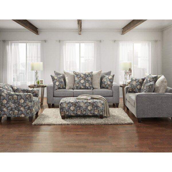Muldridge 4 Piece Configurable Living Room Set by Ebern Designs Ebern Designs