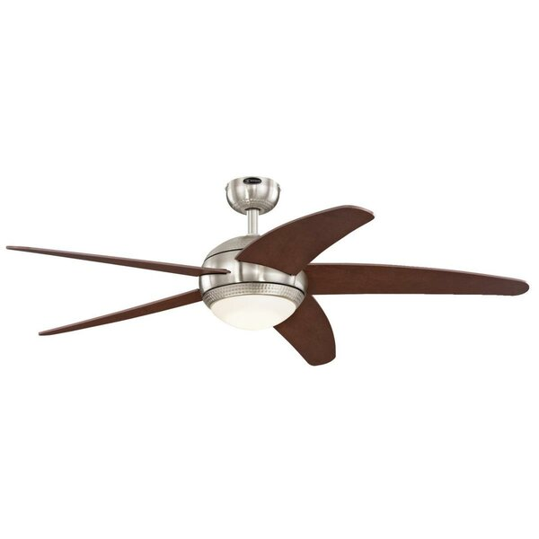52 Bendan LED 5 Blade Ceiling Fan with Remote by Westinghouse Lighting