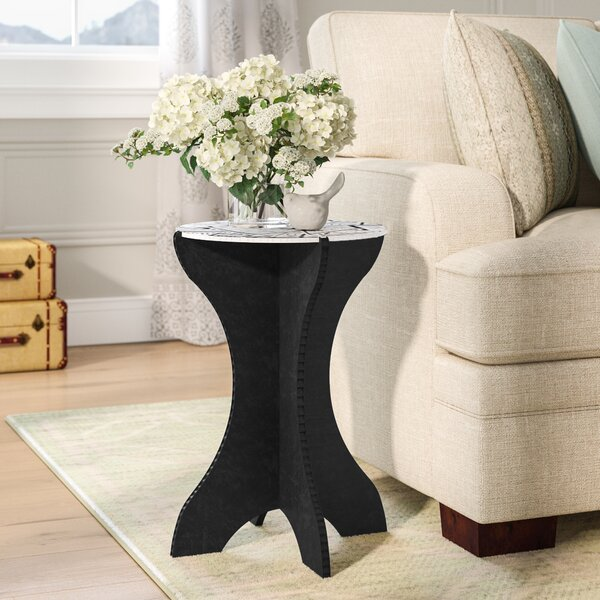 Rueter Modern End Table by Wrought Studio