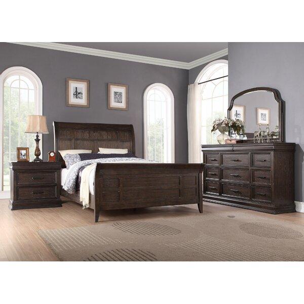 Fortunat Sleigh Bed by Laurel Foundry Modern Farmhouse