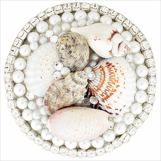 Seashell  Grid Bathroom Sink Drain by Linkasink