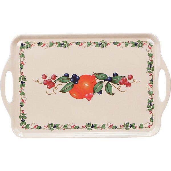 Impressions Abundance Melamine Rectangular Serving Platter by Corelle