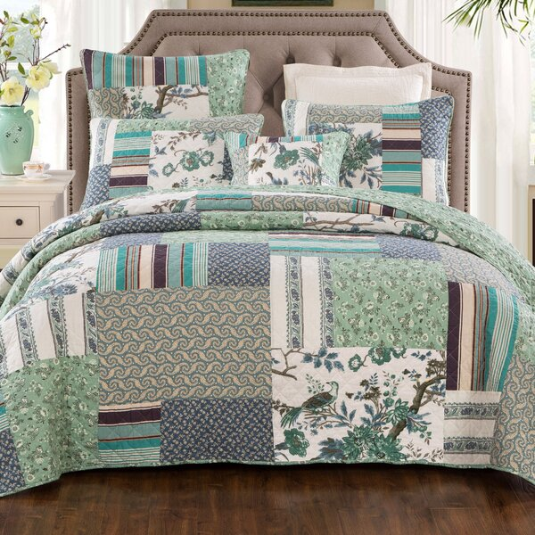 Summerall Cotton 3 Piece Quilt Set by August Grove