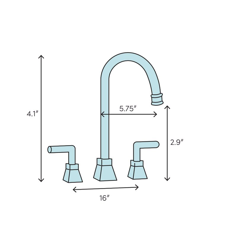 Kingston Brass KB8968NDL Nuvofusion Widespread Lavatory Faucet with Brass Pop-Up Brushed Nickel