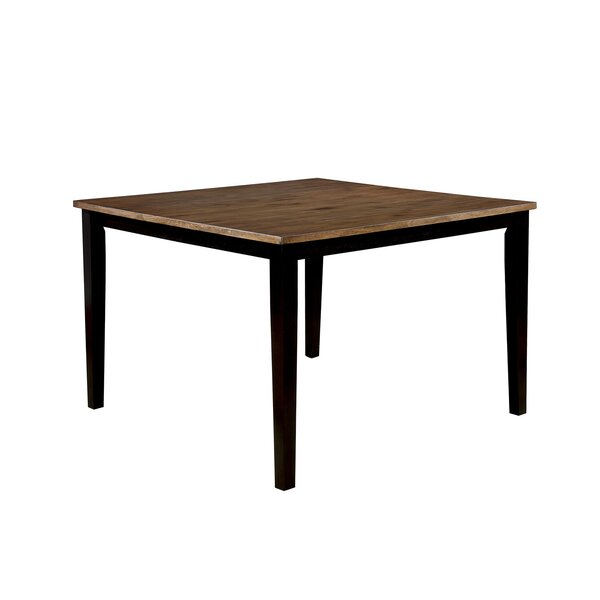 Sanborn Counter Height Solid Wood Pub Table by Gracie Oaks