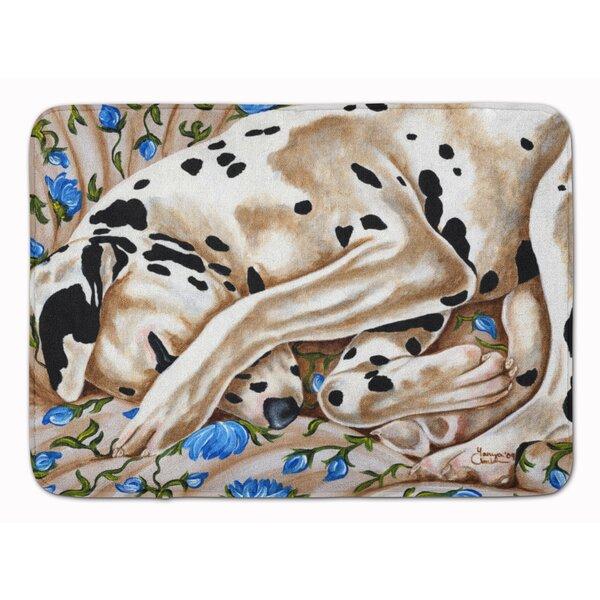 Bed of Roses Dalmatian Memory Foam Bath Rug by East Urban Home