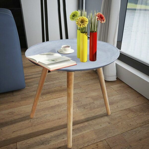 Fitch Look End Table by Union Rustic