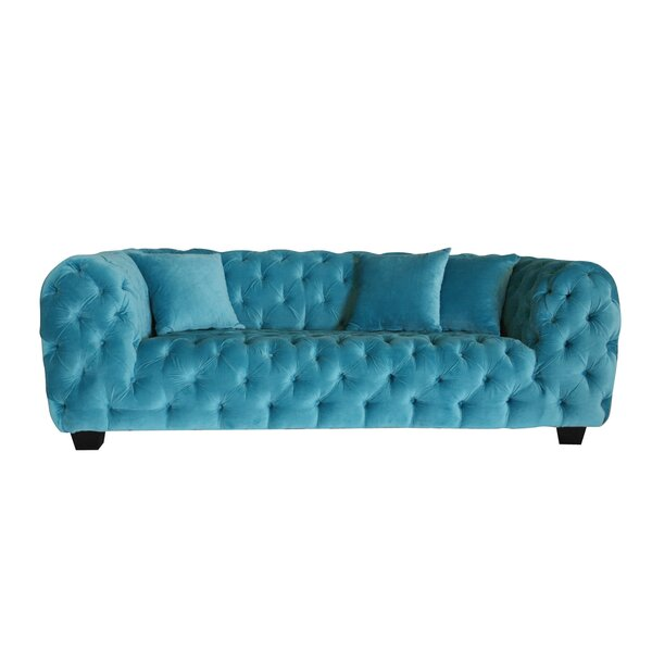 Casa Milano Chesterfield Loveseat by Pasargad