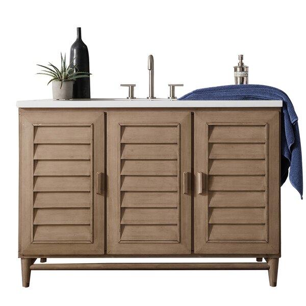 Portland 48 Single Bathroom Vanity Base By James Martin Furniture.