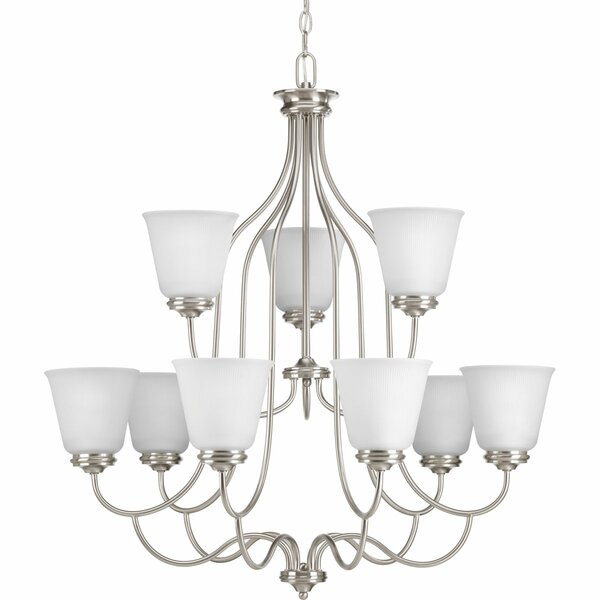 Pedroy 9 - Light Shaded Tiered Chandelier By Red Barrel Studio