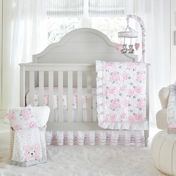 Galbraith Crib Bedding Set (Set of 4) by Harriet Bee