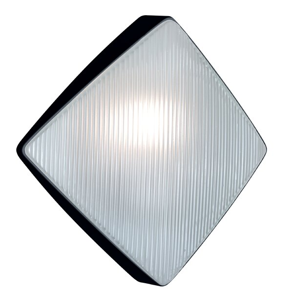 Donnie 1-Light Ribbed Face Wall Sconce by Latitude Run