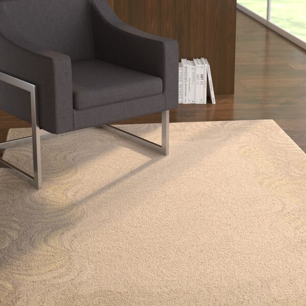 Gemini Hand-Tufted Taupe Area Rug by Latitude Run