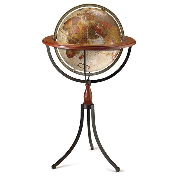 Santa Fe World Globe by Replogle Globes