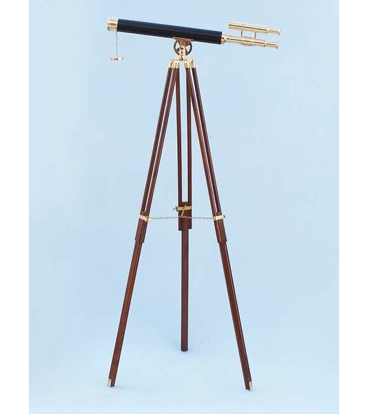 Floor Standing Griffith Astro Refractor Telescope by Handcrafted Nautical Decor