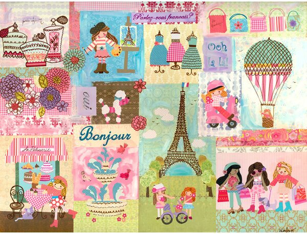A Piece of Paris Canvas Art by Oopsy Daisy