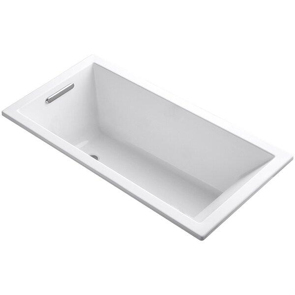Teddy 31.5 x 59 Drop-In Soaking Bathtub by Eviva