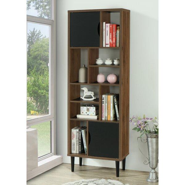 Minot Geometric Bookcase By Wrought Studio