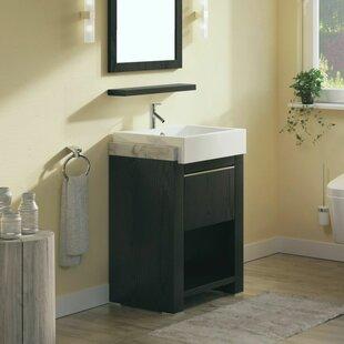 Read Reviews 24 Single Bathroom Vanity Set ByBellaterra Home